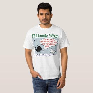 Ich spende wenn durch RoseWrites T-Shirt