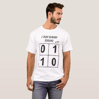 Ich spiele binäres sudoku T-Shirt
