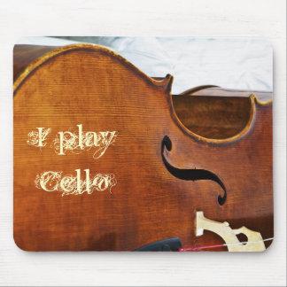 Ich spiele Cello Mousepad