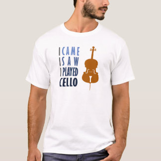 Ich spiele Cello T-Shirt