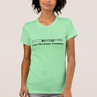 Ich spiele den rostigen Trombone. T Shirts