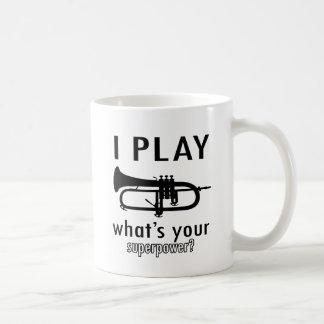 Ich spiele die Trompete Kaffeetasse