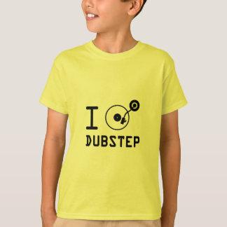 Ich spiele Dubstep/I Liebe Dubstep/I Herz Dubstep T-Shirt