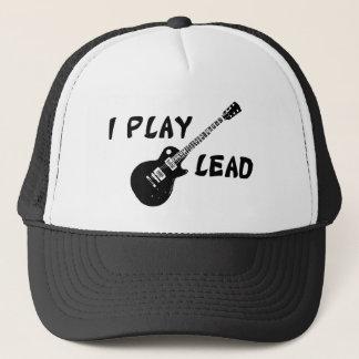 Ich spiele Führungs-Gitarre Truckerkappe