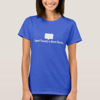 Ich spreche fließend im Film-Zitat-T-Stück T-Shirt