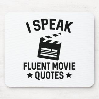 Ich spreche fließende Film-Zitate Mousepad