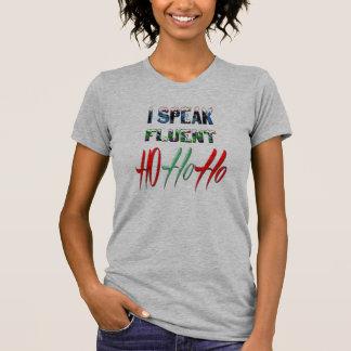 Ich spreche fließenden ho ho ho lustigen T-Shirt