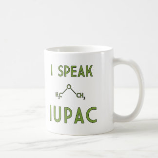 Ich spreche IUPAC Kaffeetasse