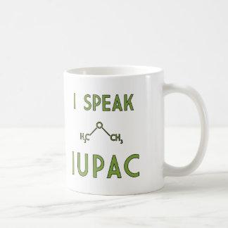 Ich spreche IUPAC Tasse
