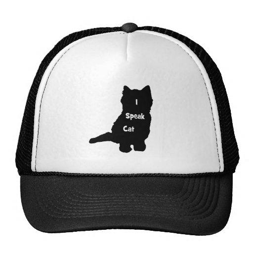 Ich spreche Katze Truckerkappe