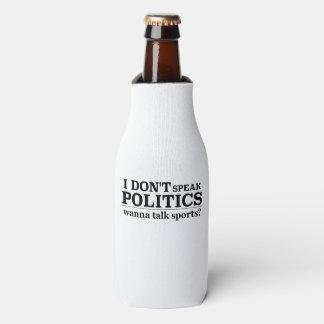 Ich spreche nicht Politik will, um Sport zu Flaschenkühler