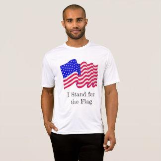 Ich stehe für das Flaggen-Shirt T-Shirt