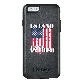 ICH STEHE für die HYMNE Vintage Flagge OtterBox iPhone 6/6s Hülle