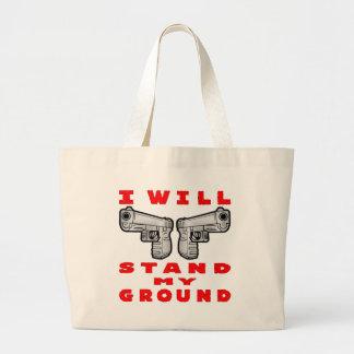 Ich stehe meine GrundAuto-Pistolen Jumbo Stoffbeutel