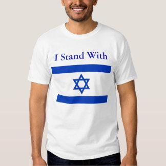 Ich stehe mit Israel-Shirt T Shirts