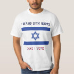 Ich stehe mit Israel T Shirt