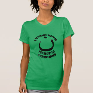 Ich stehe mit verfolgter Christ-Arabisch-Nonne T-Shirt