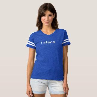 """""""Ich stehe"""" T - Shirt (Frauen)"""