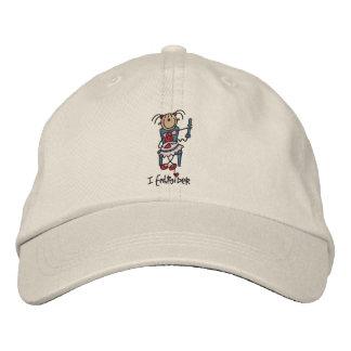 Ich sticke Hut Bestickte Kappen