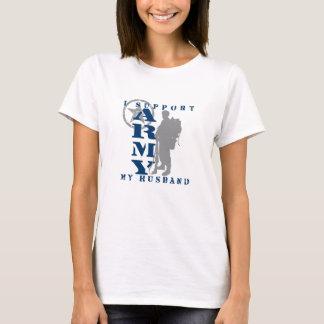 Ich stütze Ehemann 2 - ARMEE T-Shirt