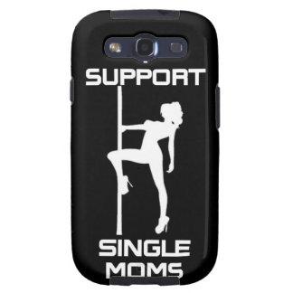 Ich stütze Kasten Single-Mamma-Samsungs-Galaxie-S Galaxy S3 Schutzhüllen