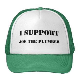 Ich stütze mich, Joe die Klempner-Baseballmütze Trucker Cap