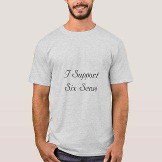 Ich stütze sechs Richtung T-Shirt