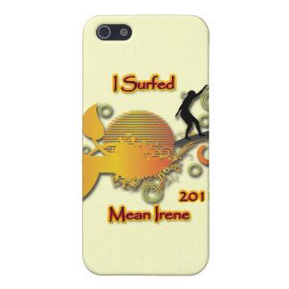 Ich surfte gemeine Irene 2011 iPhone 5 Schutzhüllen