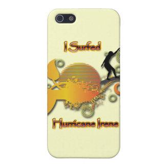 Ich surfte Hurrikan Irene iPhone 5 Etui