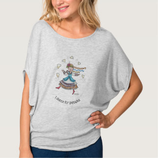 Ich tanze für Perogies, Pierogies, pyrohy Ukrainer T-Shirt