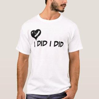 ICH TAT T-Shirt