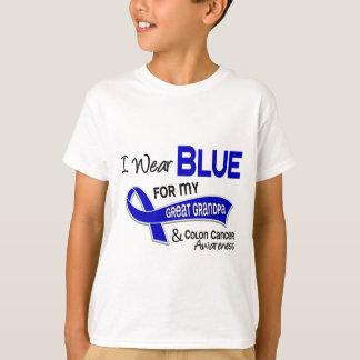 Ich trage Blau für meinen großen Darmkrebs des T-Shirt