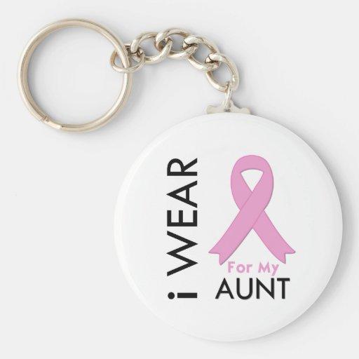 Ich trage ein rosa Band für meine Tante Schlüsselband