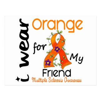 Ich trage Freund Mitgliedstaat-multiple Sklerose Postkarte