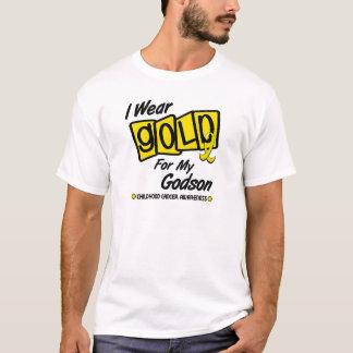 Ich trage Gold für meinen PATENSOHN 8 T-Shirt