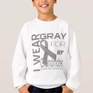 Ich trage Grau für mein Großmutter Sweatshirt