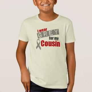 Ich trage Grau für meinen Cousin T-Shirt