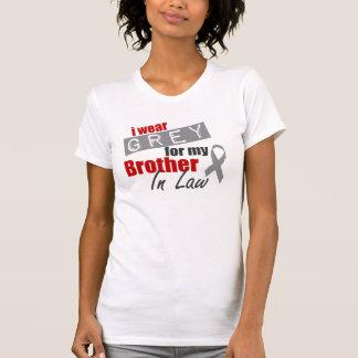 Ich trage Grau für meinen Schwager T-Shirt