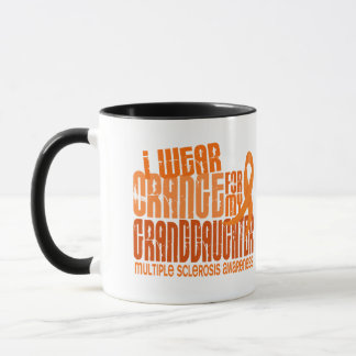 Ich trage orange Enkelin-multiple Sklerose Tasse