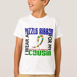 Ich trage Puzzlespiel-Band für meinen Autismus des T-Shirt