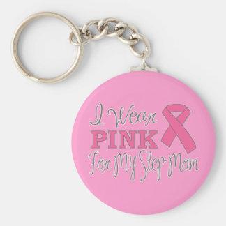 Ich trage Rosa für meine Stiefmutter (rosa Band Schlüsselanhänger