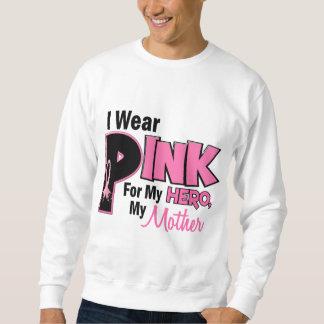 Ich trage Rosa für meinen Mutter 19 BRUSTKREBS Sweatshirt