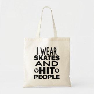 Ich trage Skate und Schlagleute, Rolle Derby Tragetasche