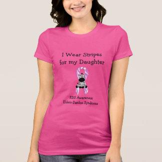 Ich trage Streifen für mein Tochter T-Shirt