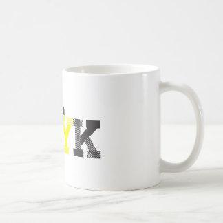 Ich träume in CMYK Kaffeetasse