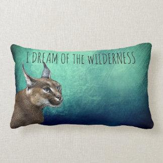 Ich träume vom Wildnis-Rotluchslumbar-Kissen Lendenkissen