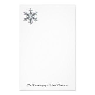 Ich träume von einem weißen Weihnachten - Briefpapier