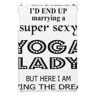 Ich träumte nie, eine sexy Yogadame heiratend iPad Mini Hülle