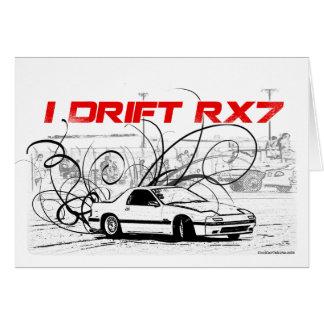 Ich treibe RX7 Karte