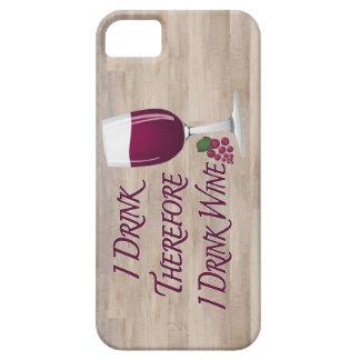 Ich trinke deshalb mich trinke Wein Schutzhülle Fürs iPhone 5